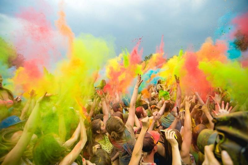 Фестиваль красок «Summer Jump»