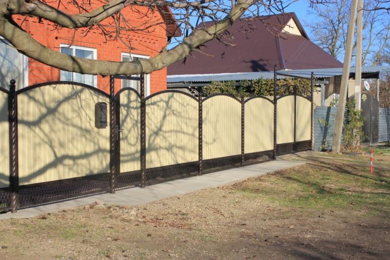 Забор углового участка в воронеже изготовим фото поколение